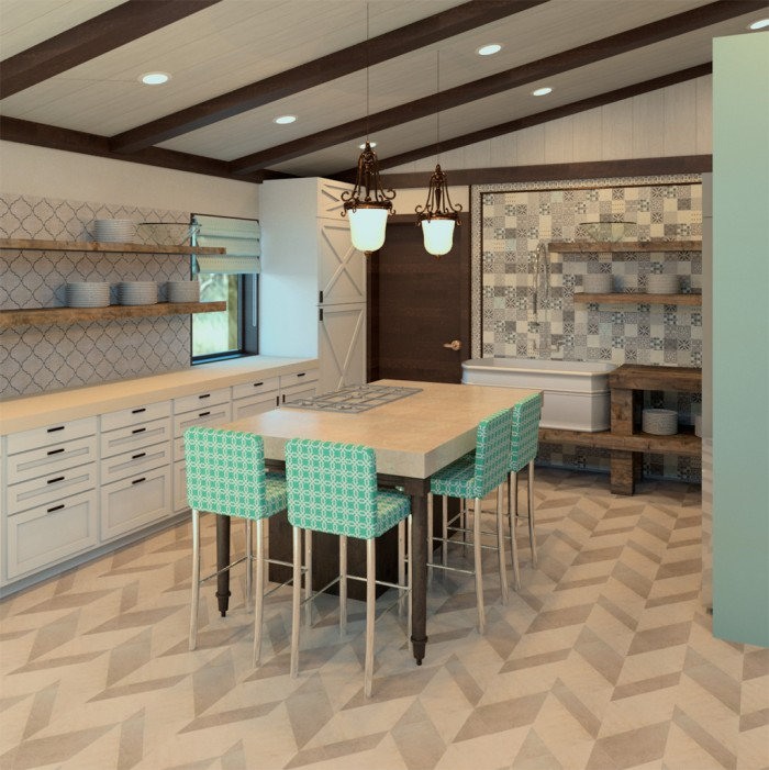 Napa Valley Kitchen Overall Design