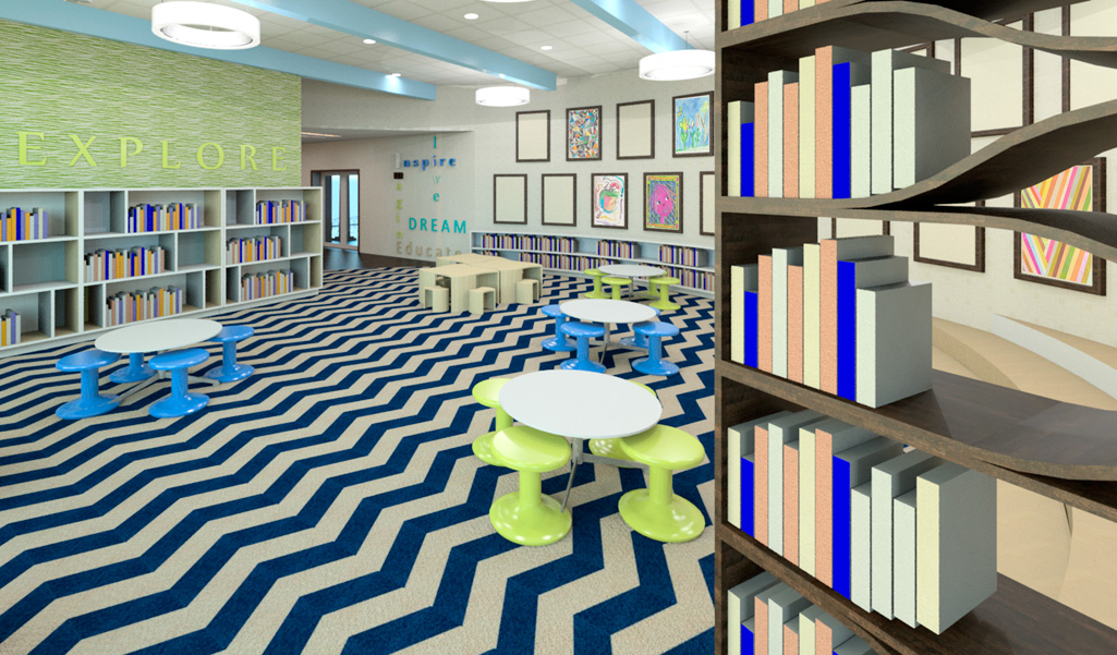 Interior Design School Sacramento Tbt This Is The Reading Room A Beverly High School