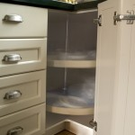 Shaker Doors, Baked Finish, Built in Lazy Susan