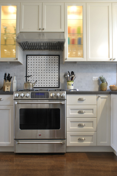 Traditional Kitchen- Stove Wall
