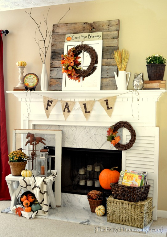 Fall Mantle by Orchard Girls
