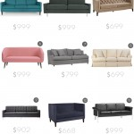 See Style By Emily Henderson for sofa retailer links