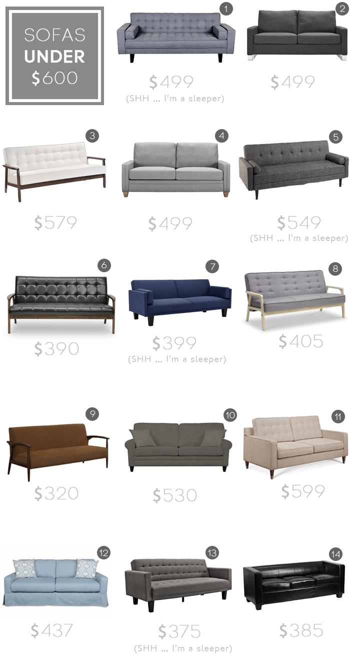 best sofas under 600 budget sofa jlm designs