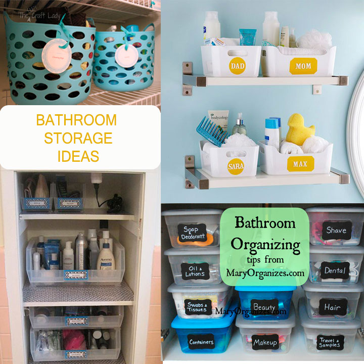 New Repurposed Storage Containers DIY Bathroom Organization Ideas