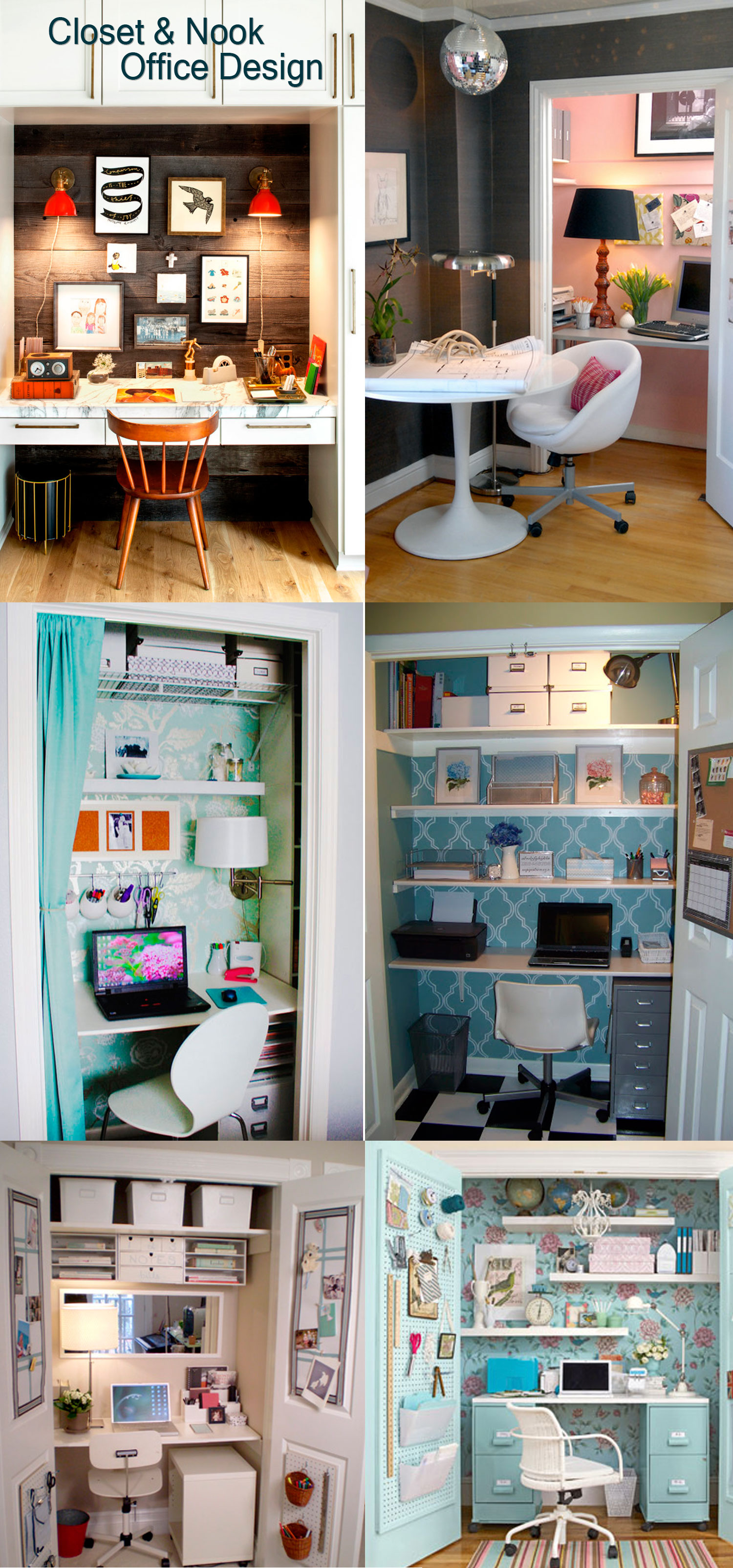 Closet & Nook Office Design