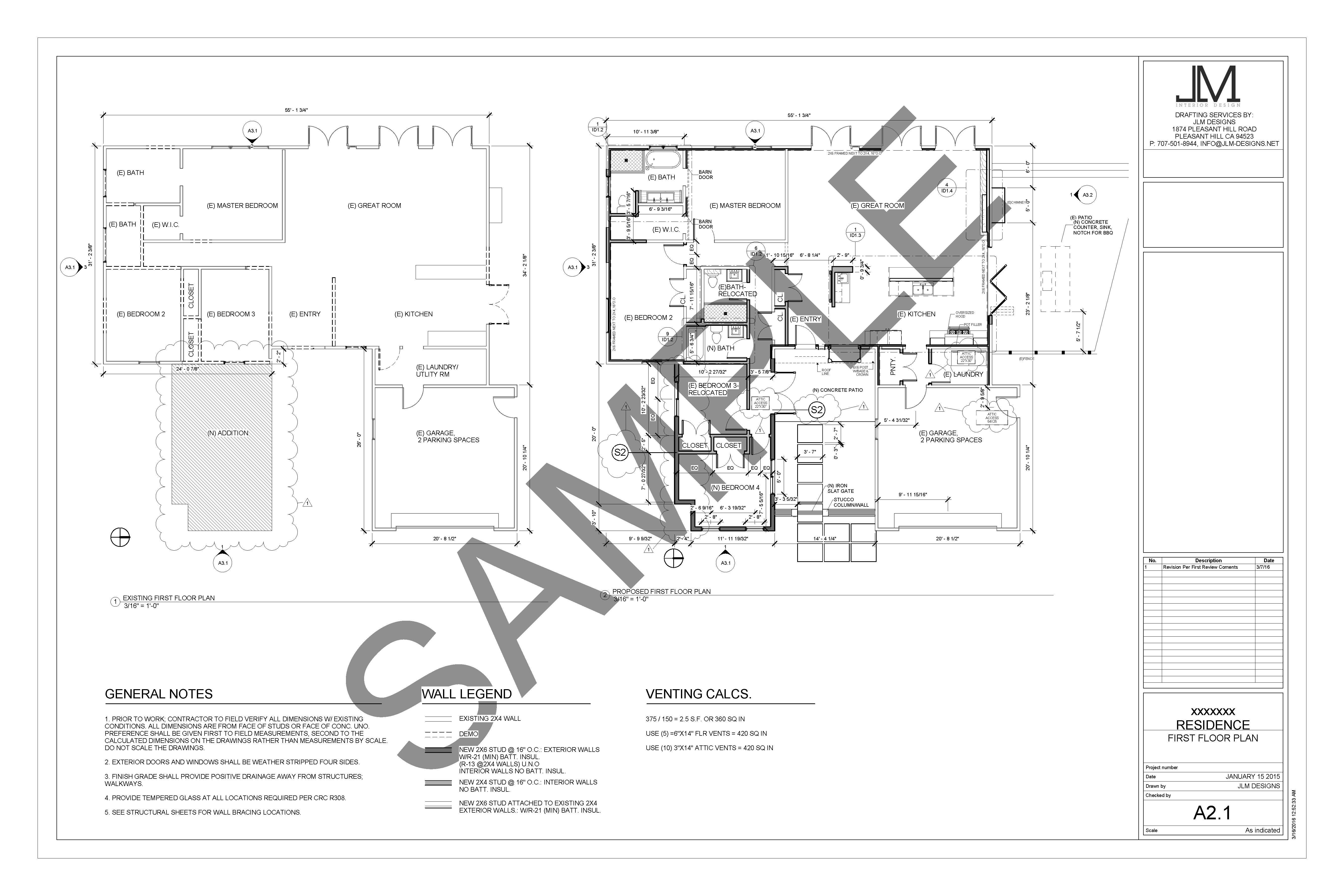 Drafting Services Jlm Designs