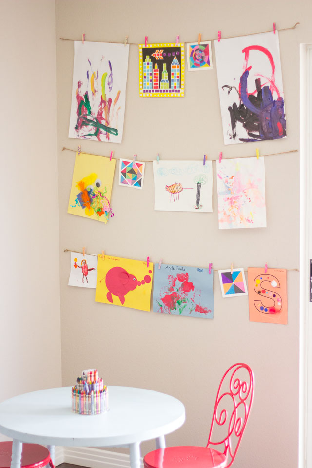 Managing kids artwork jlm designs for How to come up with painting ideas