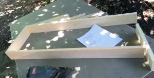 bench-1x4-frame