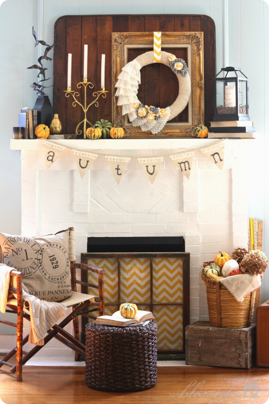 My-Blessed-Life-Fall-Mantel