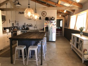 Santa Rosa Barn Home Kitchen
